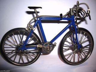 Miniatur Fahrrad Rennrad Modell 1976 Metal 1/10 Vintage Race Bike 70er Spielzeug Bild