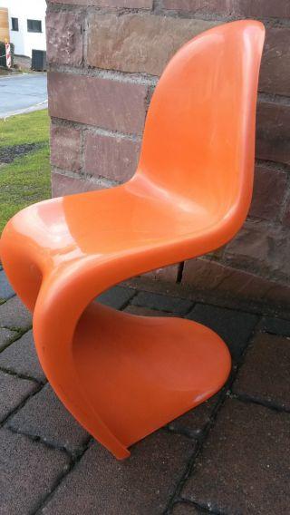 Originale Herman Miller Fehlbaum Panton Chair Hochglanz 1976 7 1977 Bild