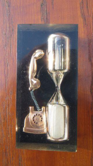 Schöne Alte Sanduhr Eieruhr Telefonuhr 70er Jahre Ca.  5 Minuten Bild
