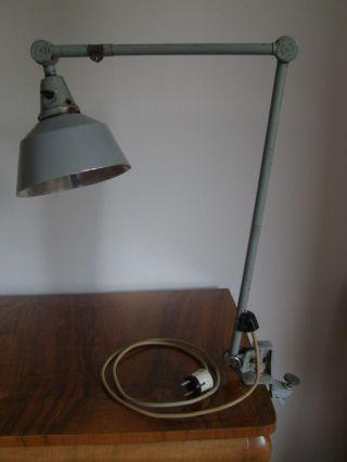 Midgard Werkstattlampe Bürolampe Schreibtischlampe Lampe Bild