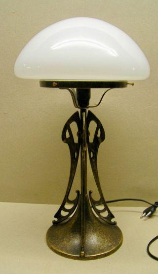 Tischlampe Jugendstil/ Art Deco Traumhaft SchÖne Filigrane Bild