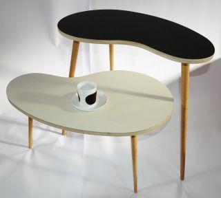 Nierentisch 50er Jahre Tisch Rockabilly Vintage Nachbau Bild