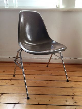 Eames Molded Fiberglass Chair Dss,  1950 - 60,  Sb/seal Brown, Bild
