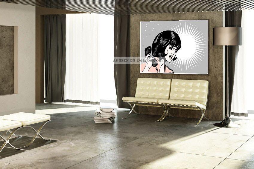Kunst Bild Pop Art Bauhaus Leinwand Bilder Gem 196 Lde Roy