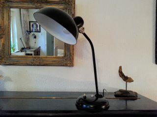 Helo Schreibtischlampe Tischlampe Lampe Loft Leuchte Art Deco Bauhaus 40er/50er Bild