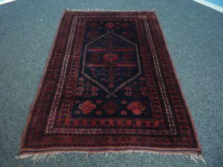 Antiker Orient Teppich Handgeknüpft.  180cm X 110cm Kazak?? Bild