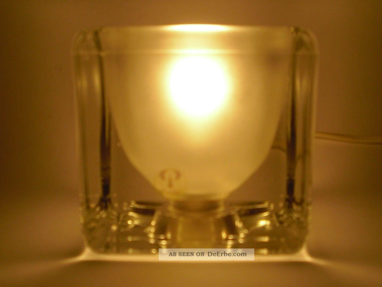 peill putzler tischlampe glas lampe ice cube ta14 design. Black Bedroom Furniture Sets. Home Design Ideas