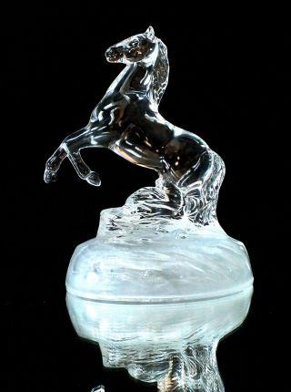 Crystal D ' Arques Kristall Glas Figur Pferd Bild
