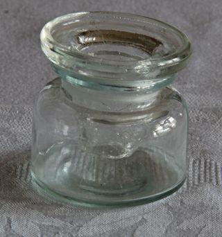 Glas Tintenfass Bild