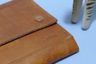 Braun Ledermäppchen / Leather Case_dieter Rams Bild