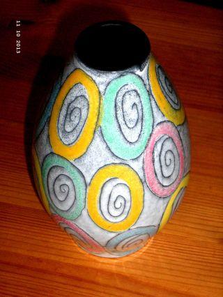 Alte Vase 70 Jahre Keramik Nr.  1970 Bild