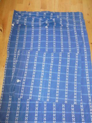 Kinderbettbezug,  Bettdeckenbezug Aus Den 60ern,  Blau,  97 Cm X 127 (100 X 130) Bild