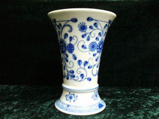 Lindner Trichtervase In Kobaltblau Bild