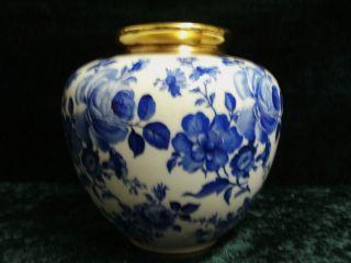Vase Bavarie/ Delft.  Kobaltblau. Bild