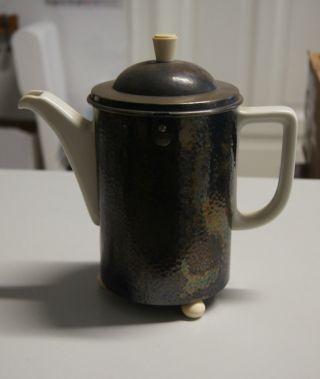 Hutschenreuther Selb Kaffeekanne Im Wmf D.  R.  P.  Thermisolmantel Bild