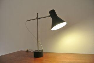 Kleine Tischleuchte Sixties Kaiser Hillebrandt Stilnovo Table Lamp C.  1960 Bild