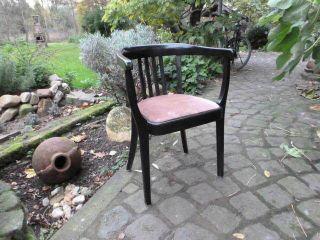 Armlehnstuhl Stühle Kaffeehaus - Cafehaus - Sessel - Stuhl Bürostuhl Schreibtisch Bild