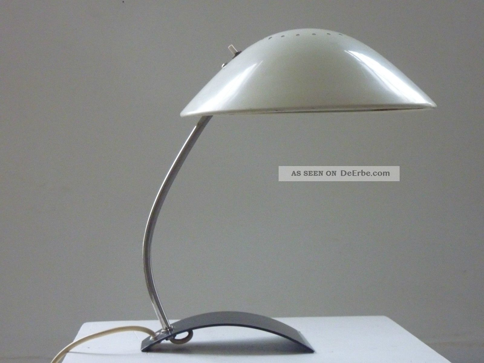 Tischlampe desklamp kaiser leuchten 50er 50s mid century for Lampen 50er design