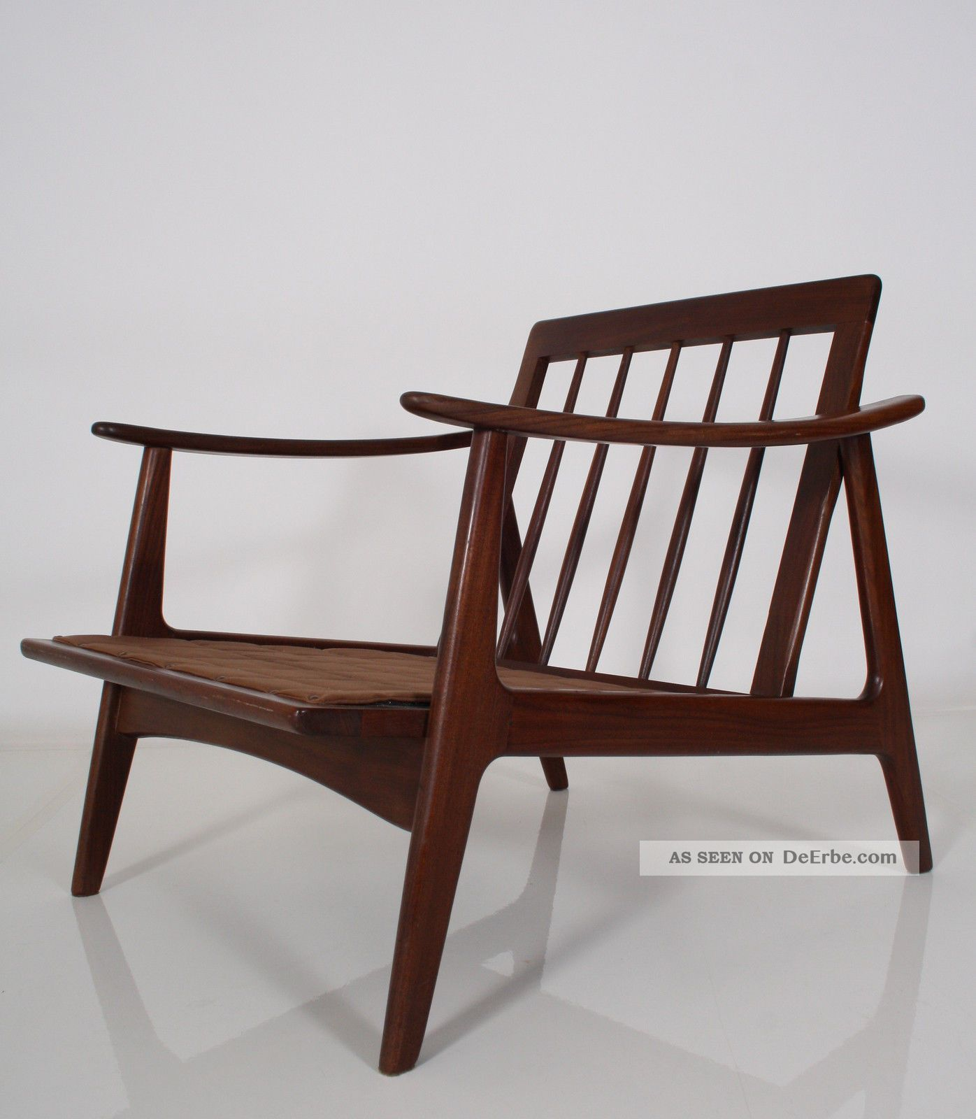 2 60er Teak Sessel Danish Design Top 60s Easy Chairs Fauteuil Poltrona