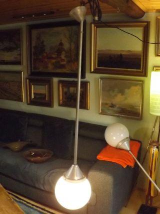 Antike // Loft - Lampe // Kugel - Lampe // Bauhaus Art - Deco // Um 1930 // Bild