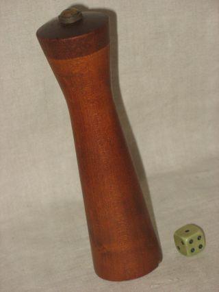 Design Pfeffer - Mühle 60er 70er Teak Holz Vintage Retro Modernist Bild