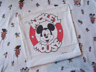 Kinder Bettwäsche Walt Disneys Micki Maus Vintage 70er Jahre Bild