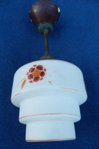 Art - Deko - Lampe,  Schönes Dekor,  Bakelit - Messing Marke