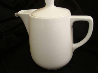 Um 1950 Grosse Kaffeekanne Melitta Minden 1,  5 L Weiß Bild