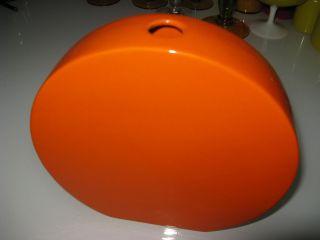 Studio Keramik Vase Orange 70er Jahre Bild
