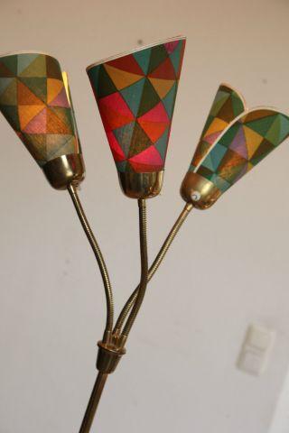 50er 60er Stehlampe Floorlamp Tütenlampe Lamp Lampe Mid Century Bild