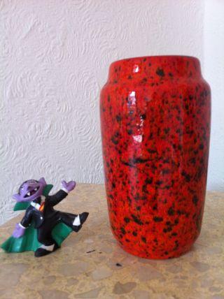60 ' S Wgp West German Pottery 60er Scheurich Lava Glaze Keramik Vase 231 - 15 (40) Bild