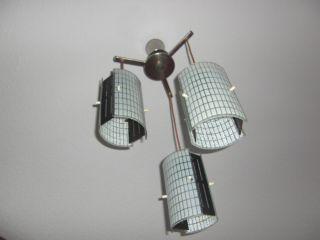 Leuchte Hängelampe Lampe Hängeleuchte Ddr Design Der 50er Jahre Bild