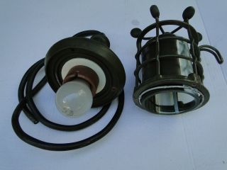 Loft Fabriklampe Explosionsgeschützt Vintage Art Deco Industrie Design Bild