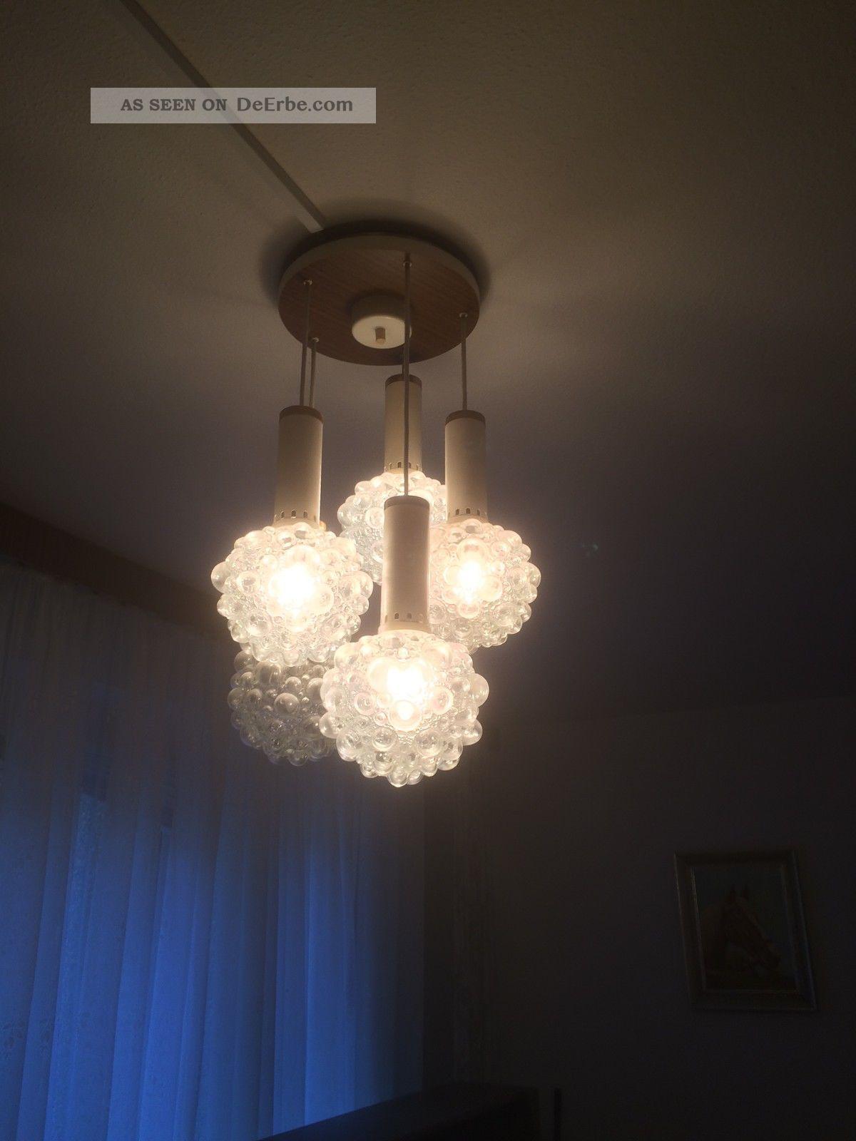 70er jahre lampe leuchte deckenlampe kugellampe bubble. Black Bedroom Furniture Sets. Home Design Ideas