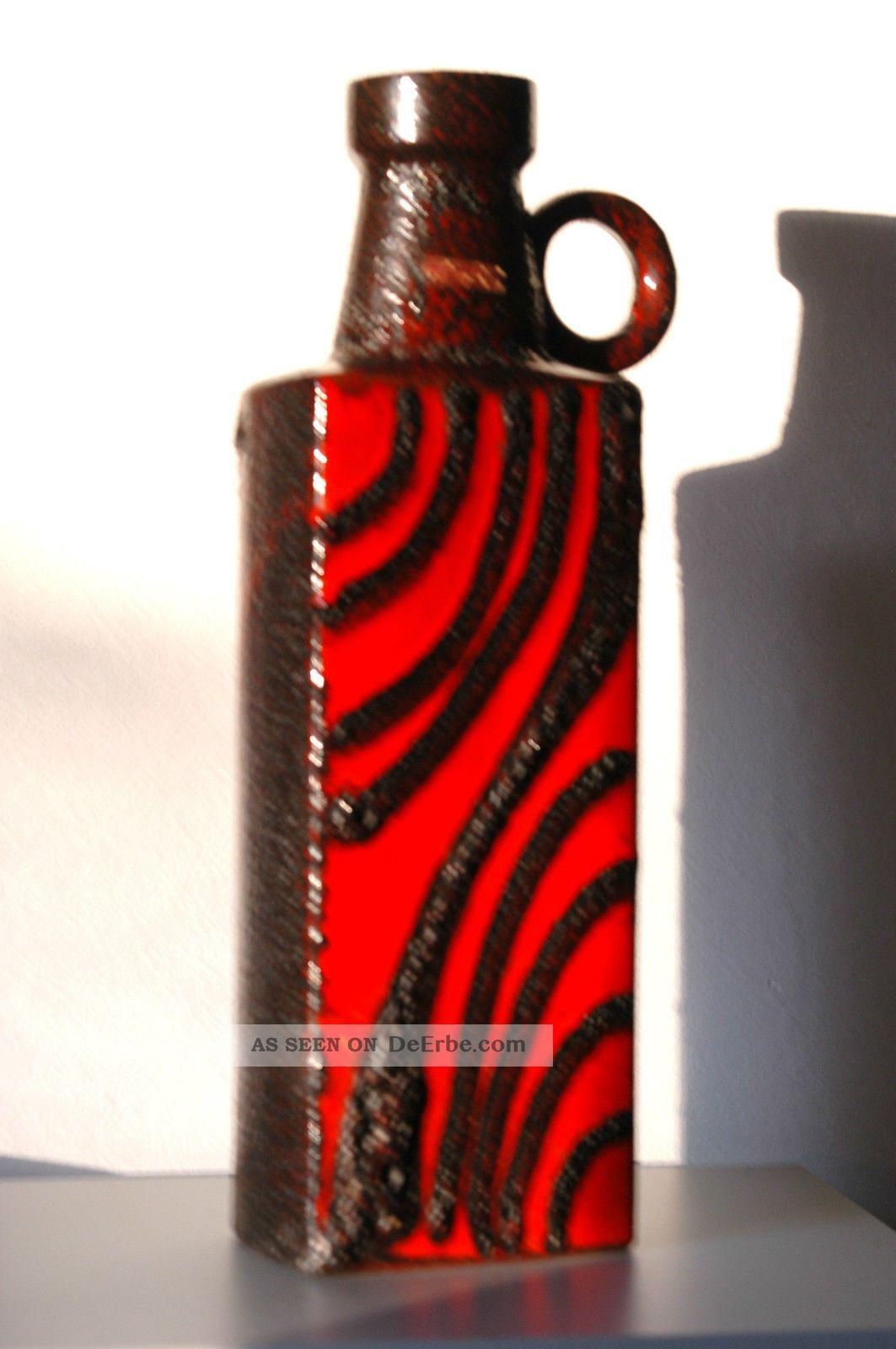 scheurich fat lava xxl bodenvase form nr 481 50 kunstkeramik 70er jahre 50 cm. Black Bedroom Furniture Sets. Home Design Ideas