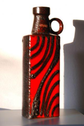 Scheurich Fat Lava Xxl Bodenvase Form - Nr.  481 - 50,  Kunstkeramik 70er Jahre 50 Cm Bild