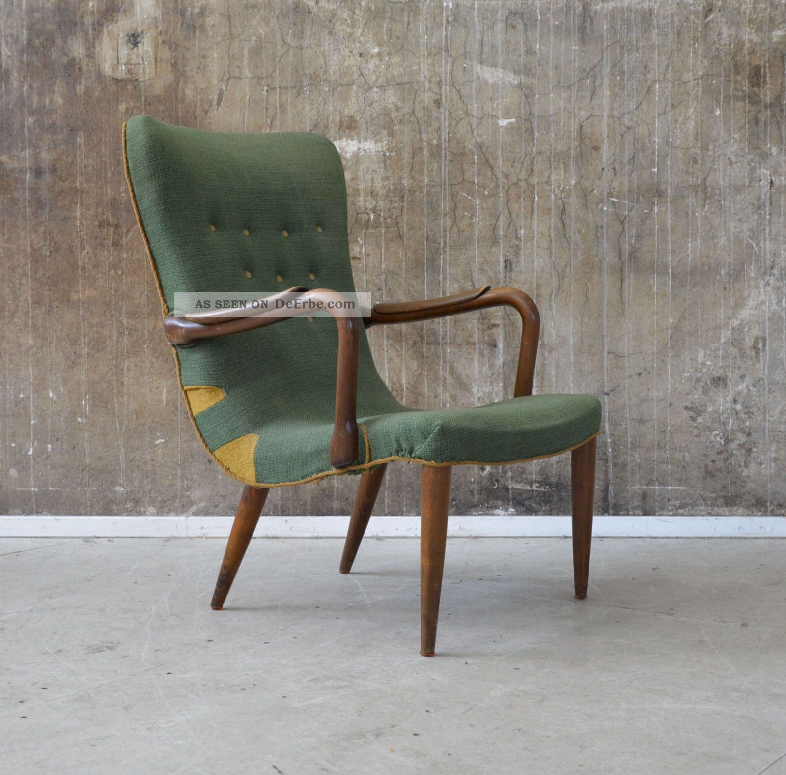 50er Sessel Midcentury 50s Vintage Easy Chair Danish Design Finn Juhl ära 60s