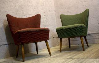 2 X Midcentury Modern Sessel Chair Cocktailsessel 50er Rockabilly Top Bild