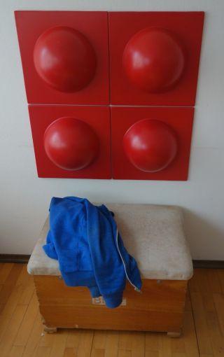 4 Bubble Elemente 70er 60er Op Art Wand Bilder Bild Ro Bild