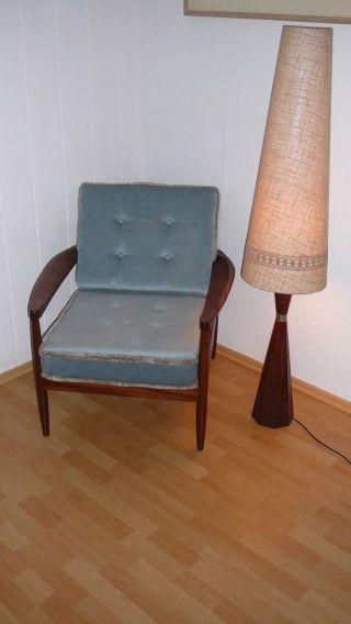 Easy Chair,  Teakholz,  Knoll Antimott?,  Danish Design,  Anschauen Lohnt,  Top Bild
