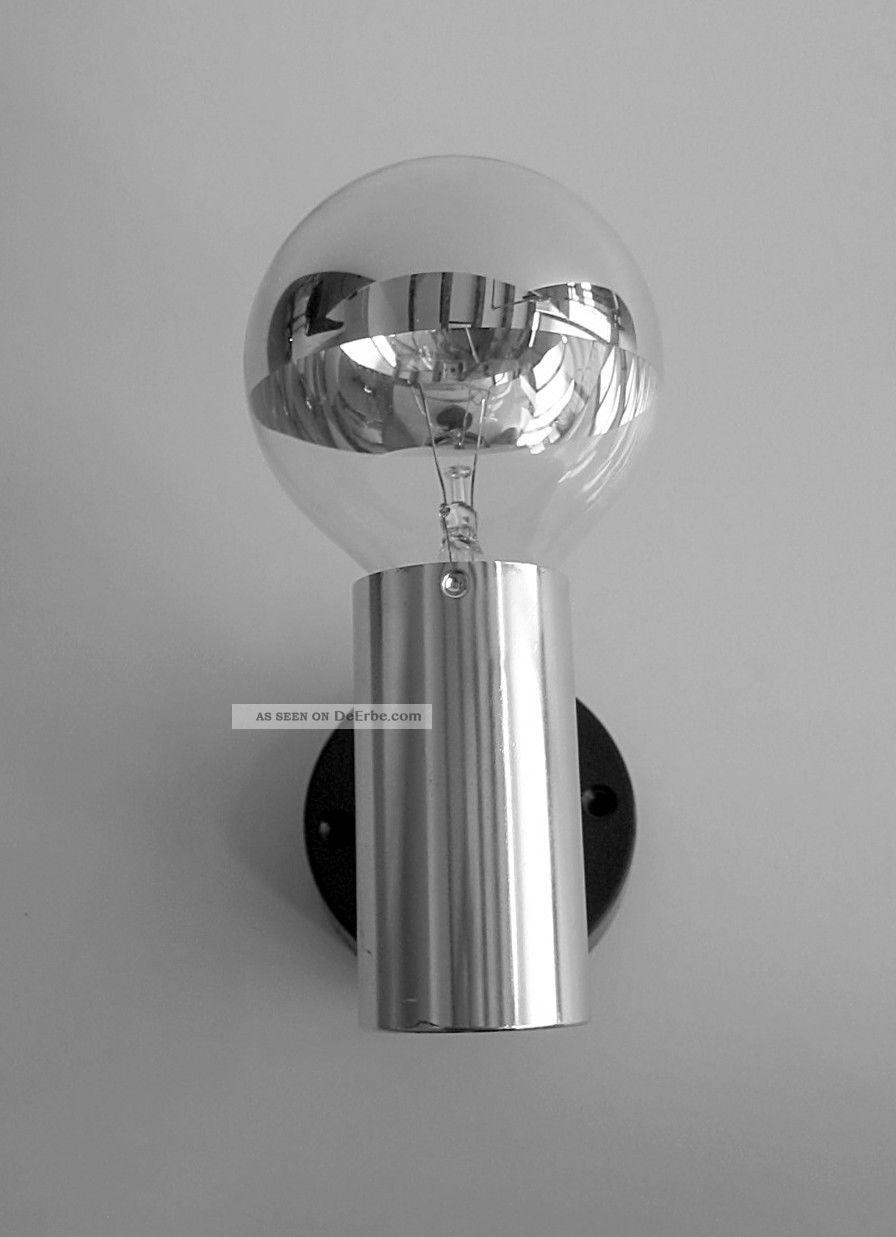 70er hoffmeister heute staff chrom strahler designleuchte lampe panton erco stil. Black Bedroom Furniture Sets. Home Design Ideas