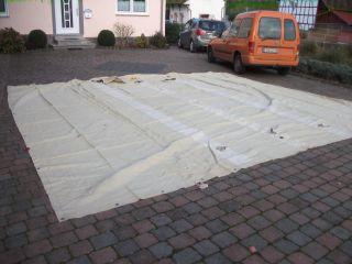 Dachbodenfund Alte Plane 50iger Jahre Kutschen,  Lkw,  Planwagen,  Lanz,  Henschel, Bild