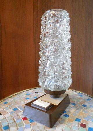 Kleine Alte Lampe Tischleuchte Nachttischlampe 50er I 60er Jahre Bild