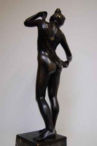 Bronze Signed R.  Stocker - Jugendstil Bild