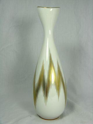Schöne Handbemalte Heinrich & Co.  Porzellan Vase Manufaktur Chiemsee 1634 25 Cm Bild