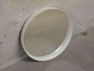 Spiegel Wandspiegel 60er 60`s 70er 70`s Panton Ära Space Age Weiß Design Entwurf Bild