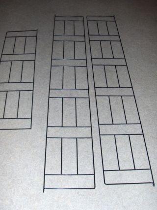 6 Teile Für Großes Stringregal - System - Leitern - Wandregal Bild
