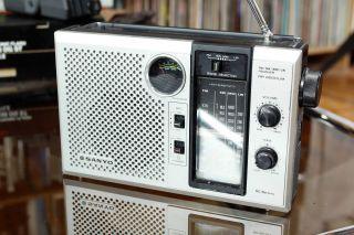 Sanyo Stylisches 60er Oder 70er Jahre Radio Rp 8260 Um Bild