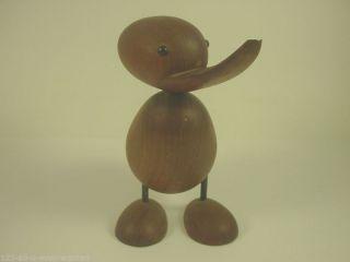 Vintage Holz Ente,  Norway,  Scandinavian Design,  Bojesen Ära Bild