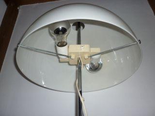 Fagerhults Chrom Design Lampe Pilzlampe 70er Jahre Tischleuchte Pendelzug Bild